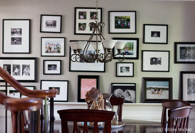 Mounted Picture Ledges Let You Lean Photo Frames Against The Wall While  Providing Extra Room For Adding Accent Pieces Into Your Display.