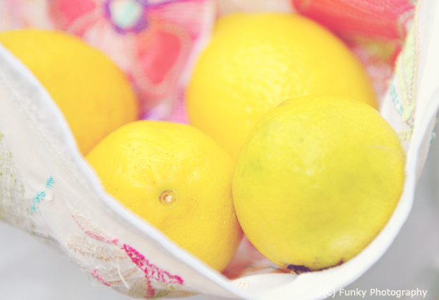 photograph of lemons