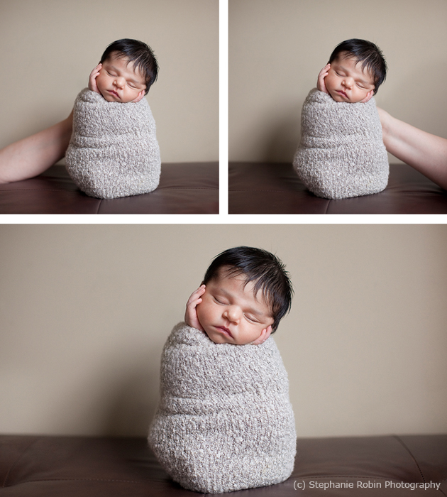 Newborn Photography Posing Safety