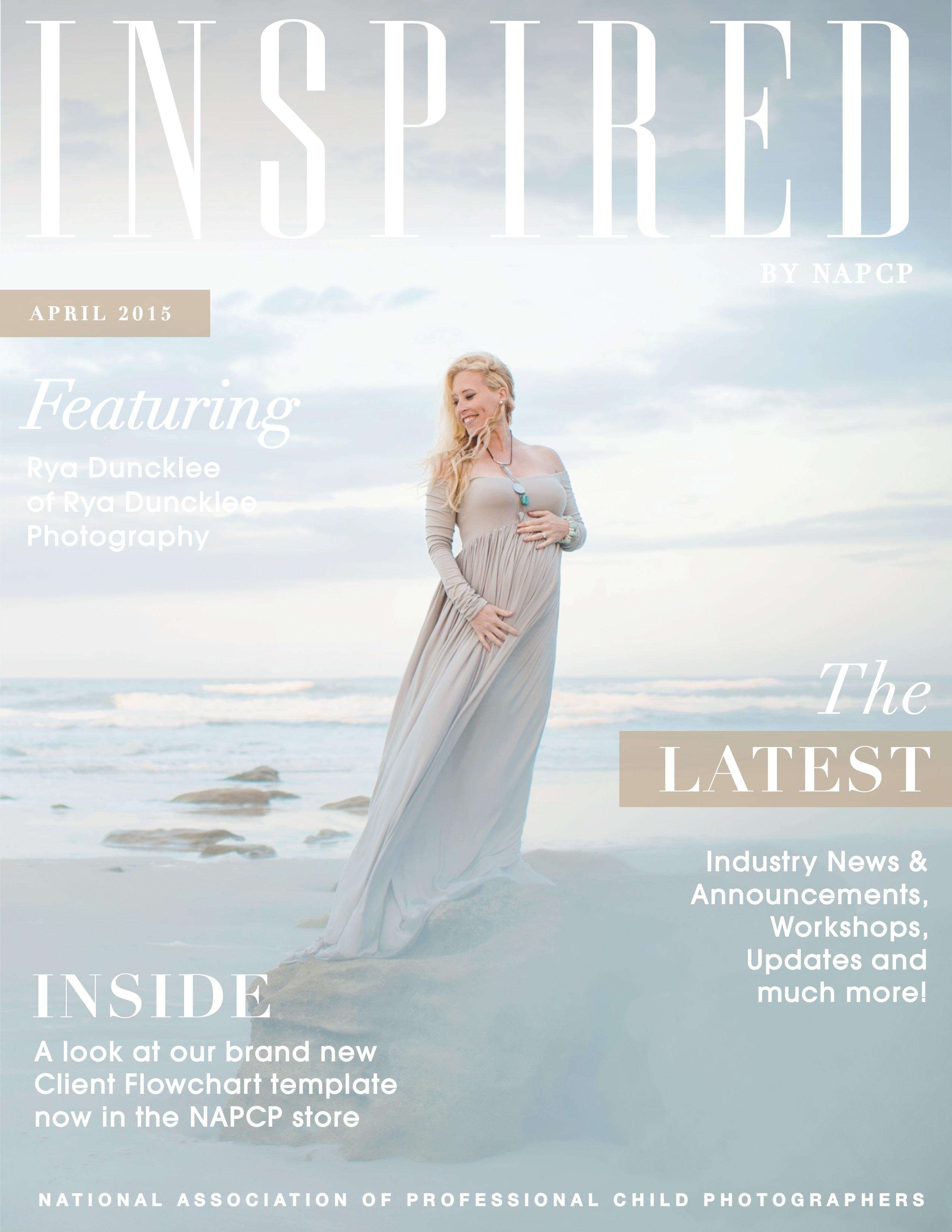 April Newsletter 2015 cover
