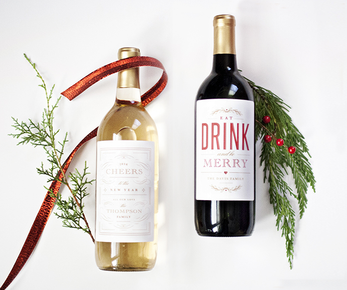 Holiday wine label printable national association of professional holiday wine label printable maxwellsz