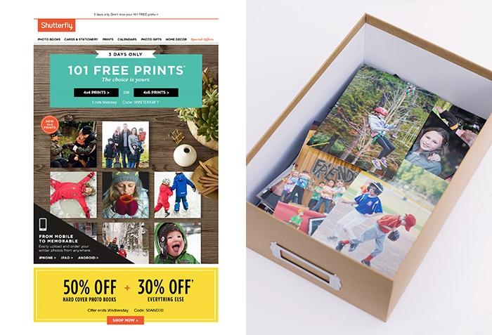 Abbe McCracken Shutterfly free prints