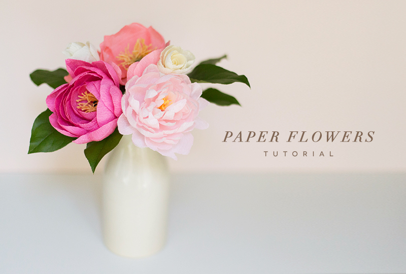 Mother S Day Paper Flower Bouquet Diy