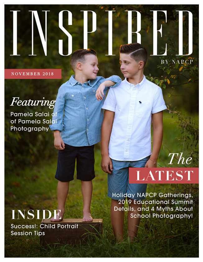 Inspired magazine November 2018 cover