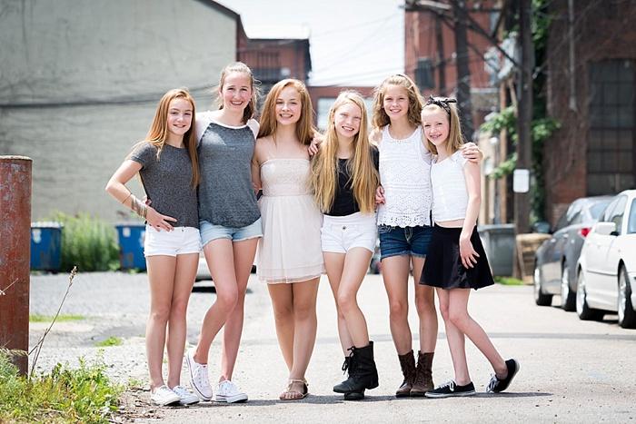Group of young girls masterbating 6