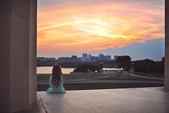 Tina Krafts_favorite local spot.Lincoln Memorial