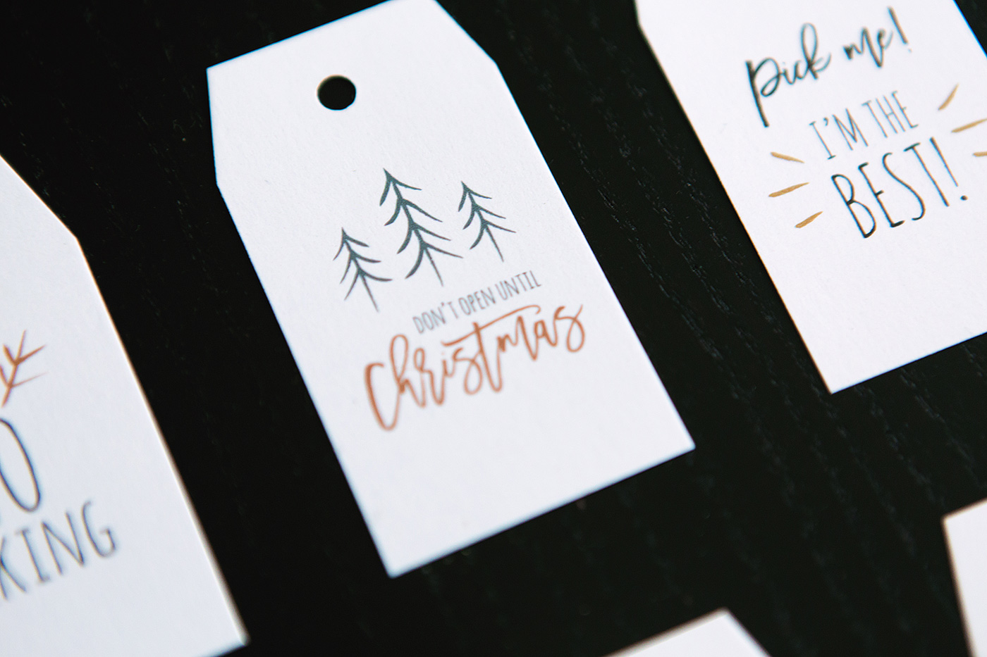 picture relating to Printable Kraft Tags titled Holiday vacation Present Tag Printables! - Nationwide Affiliation of