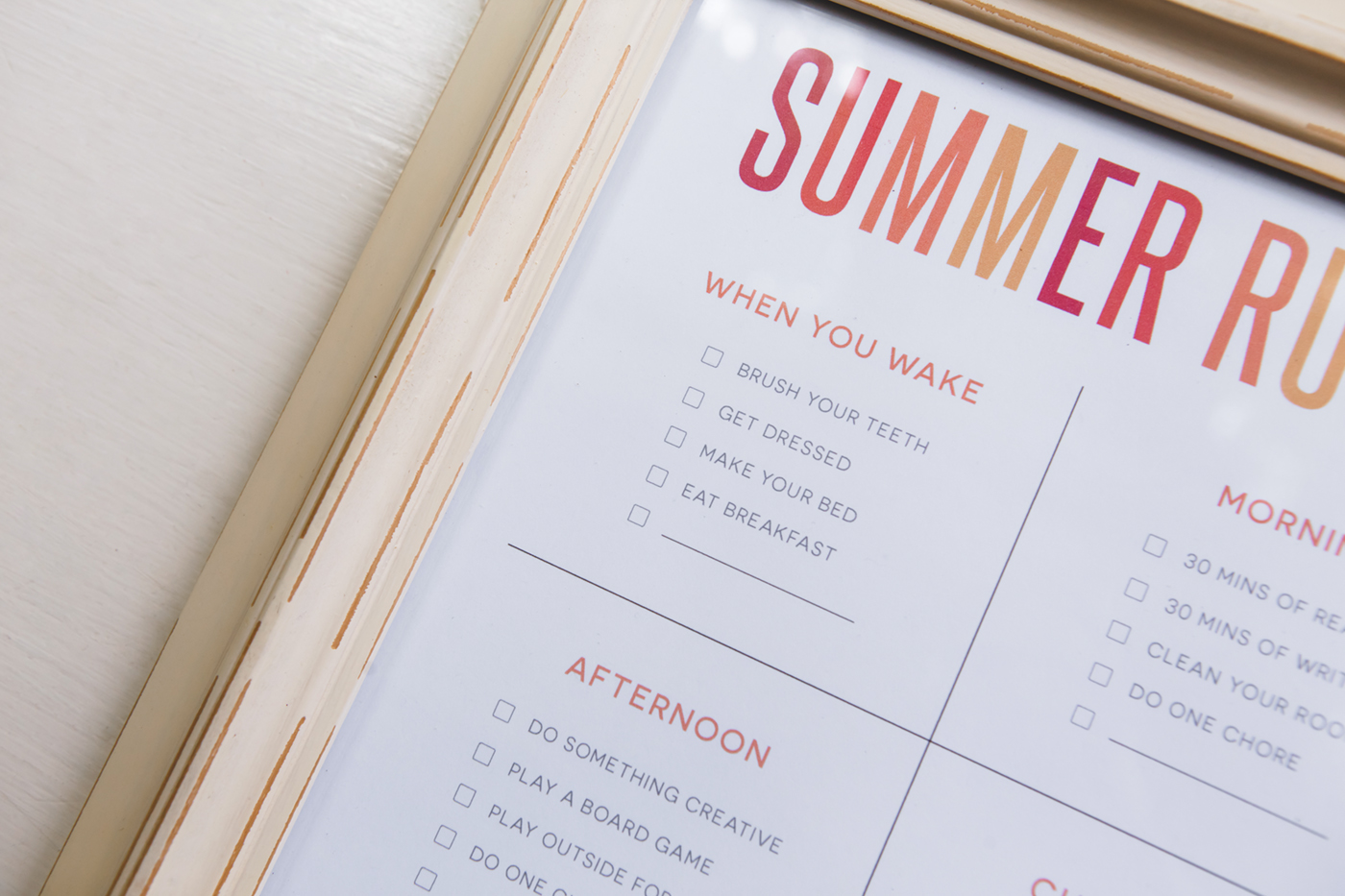picture relating to Summer Rules Printable named No cost Printable - Summer time Tips! - Nationwide Affiliation of