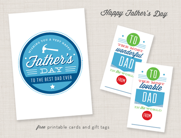 photograph relating to Free Printable Fathers Day Tags named Fathers Working day Cost-free Printables! - Nationwide Affiliation of