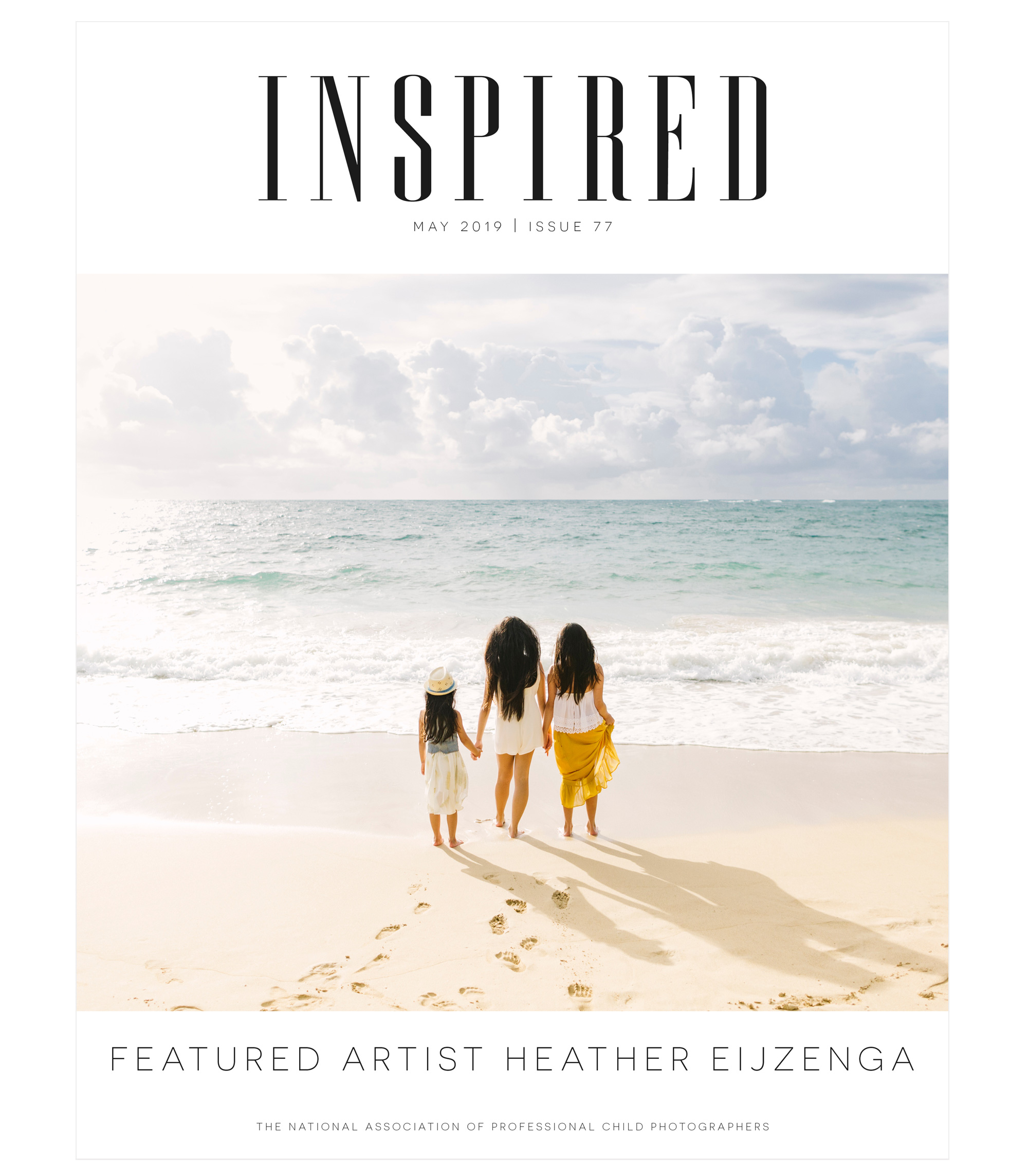 Inspired magazine May 2019 cover