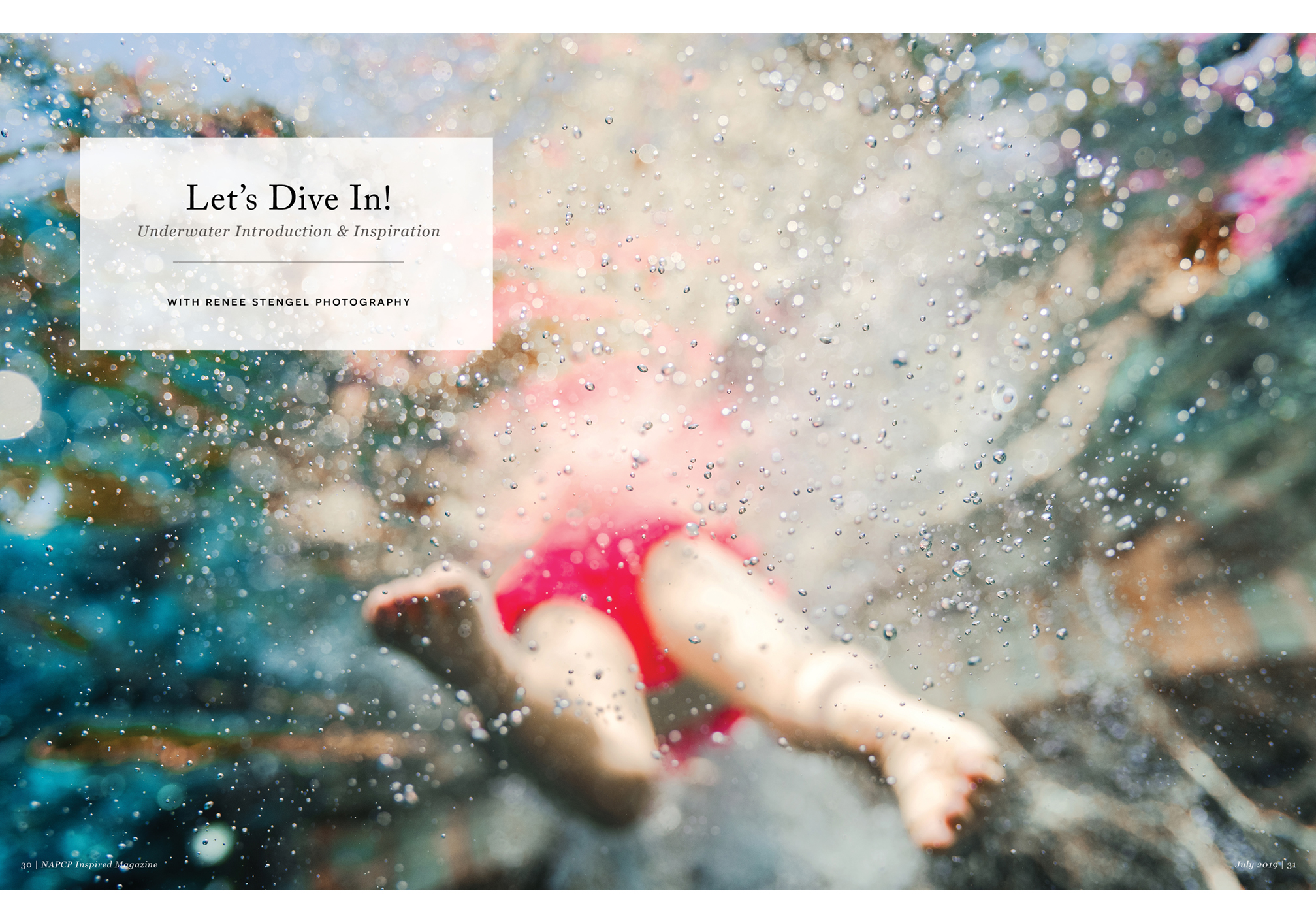 Renee Stengel Photography underwater article