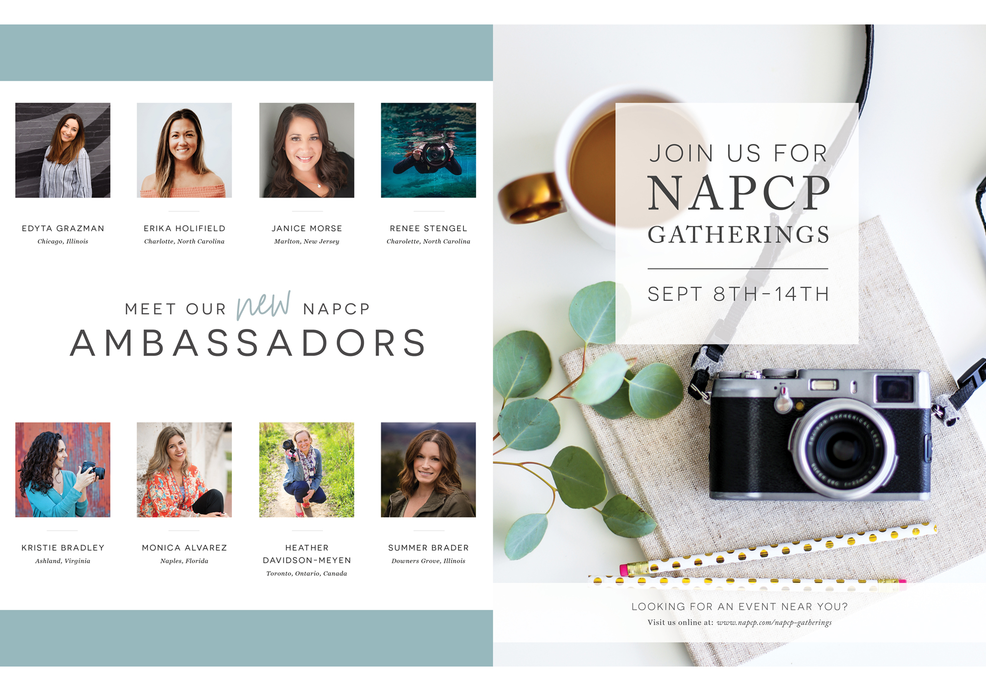 Inspired Magazine, Meet Our New NAPCP Ambassadors