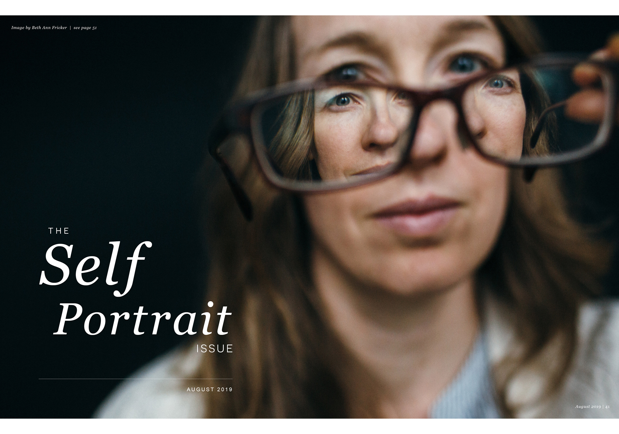 Inspired Magazine, The Self Portrait Issue August 2019