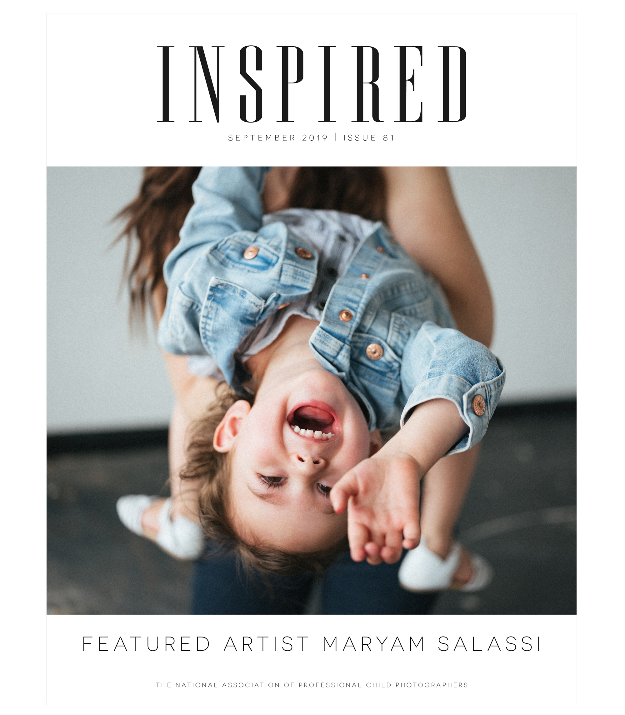 Inspired September 2019 Issue 81 Featured Artist Maryam Salassi