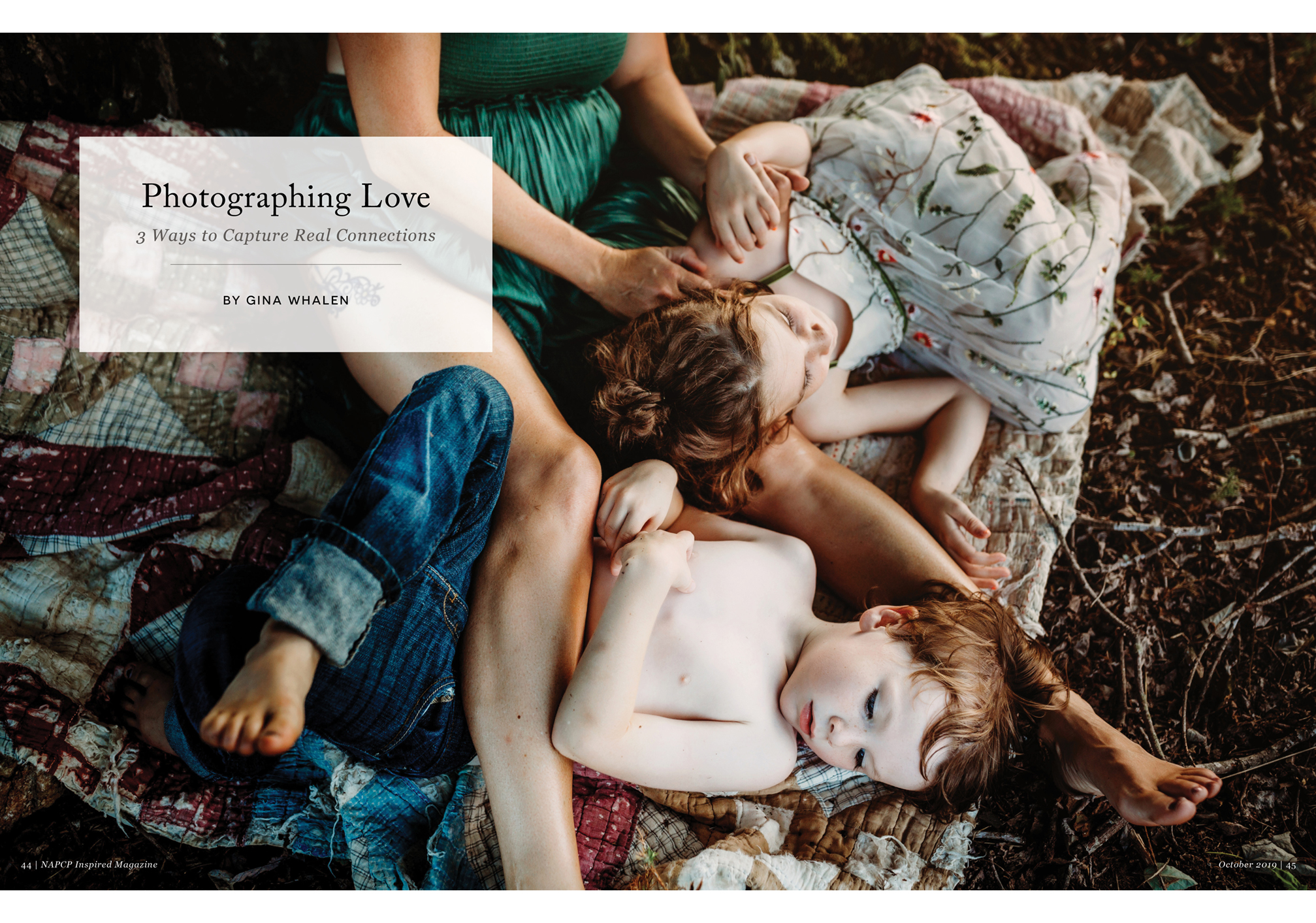 Photographing Love, 3 Ways to Capture Real Connections, by Gina Whalen