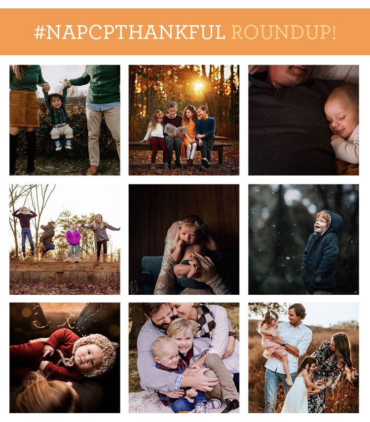 #NAPCPThankful Roundup, Instagram images