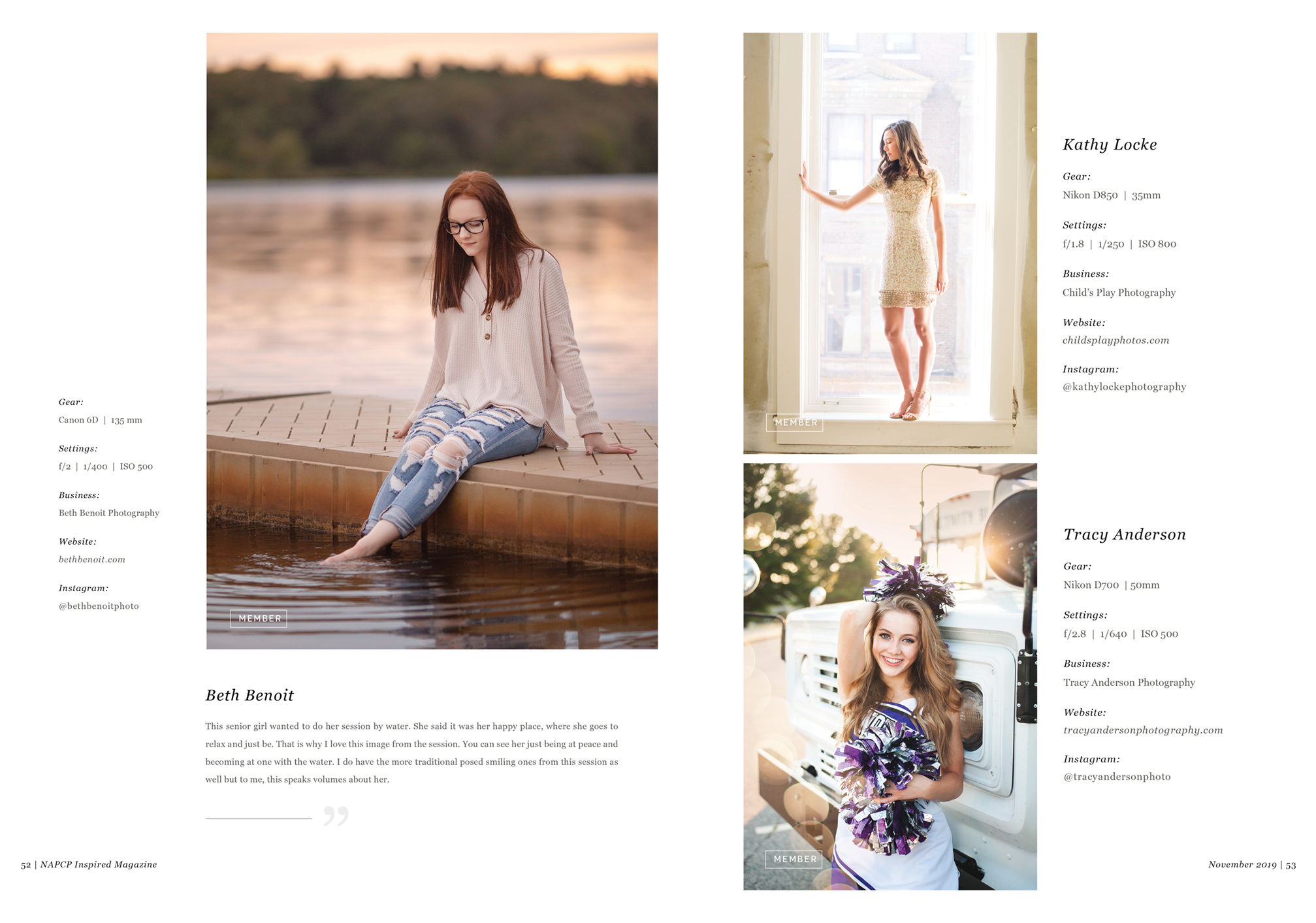 Featured Phtographers Seniors