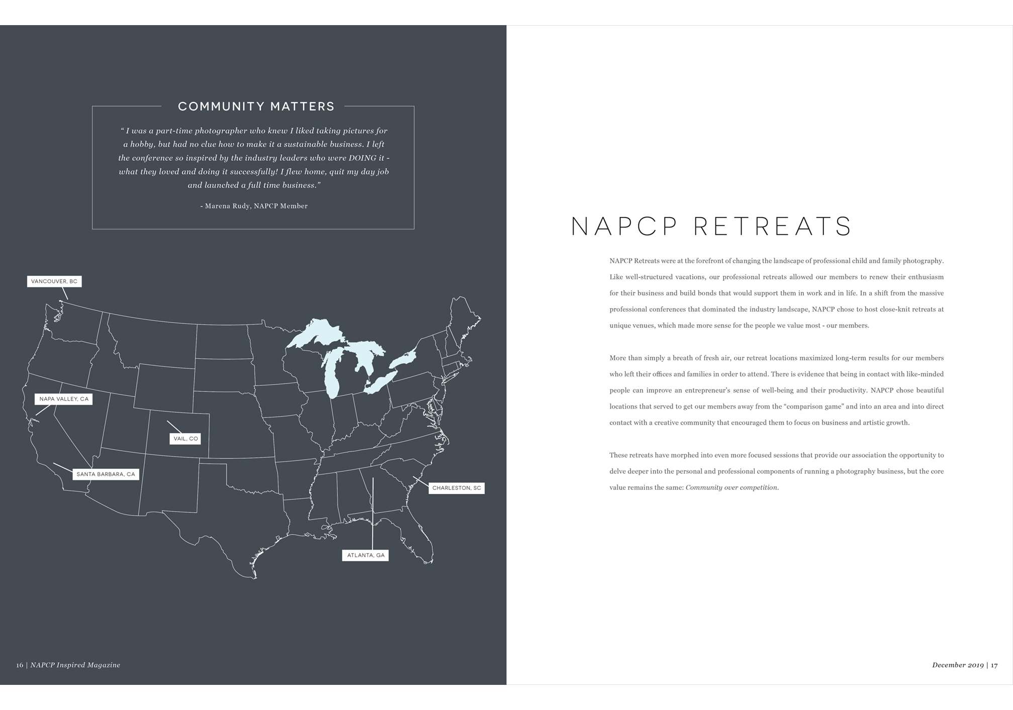 NAPCP Retreats