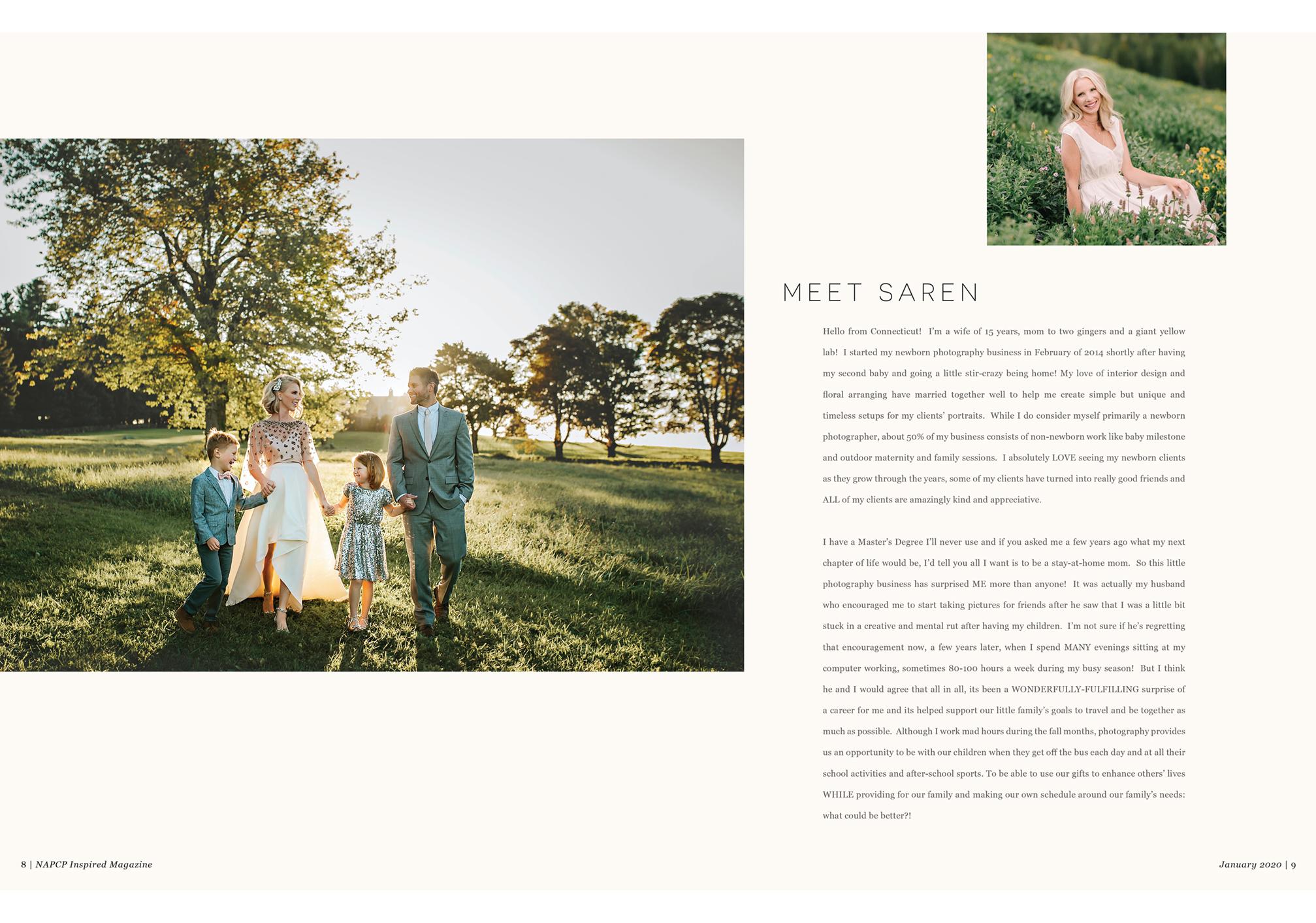 January 2020 Inspired Magazine, Meet Saren