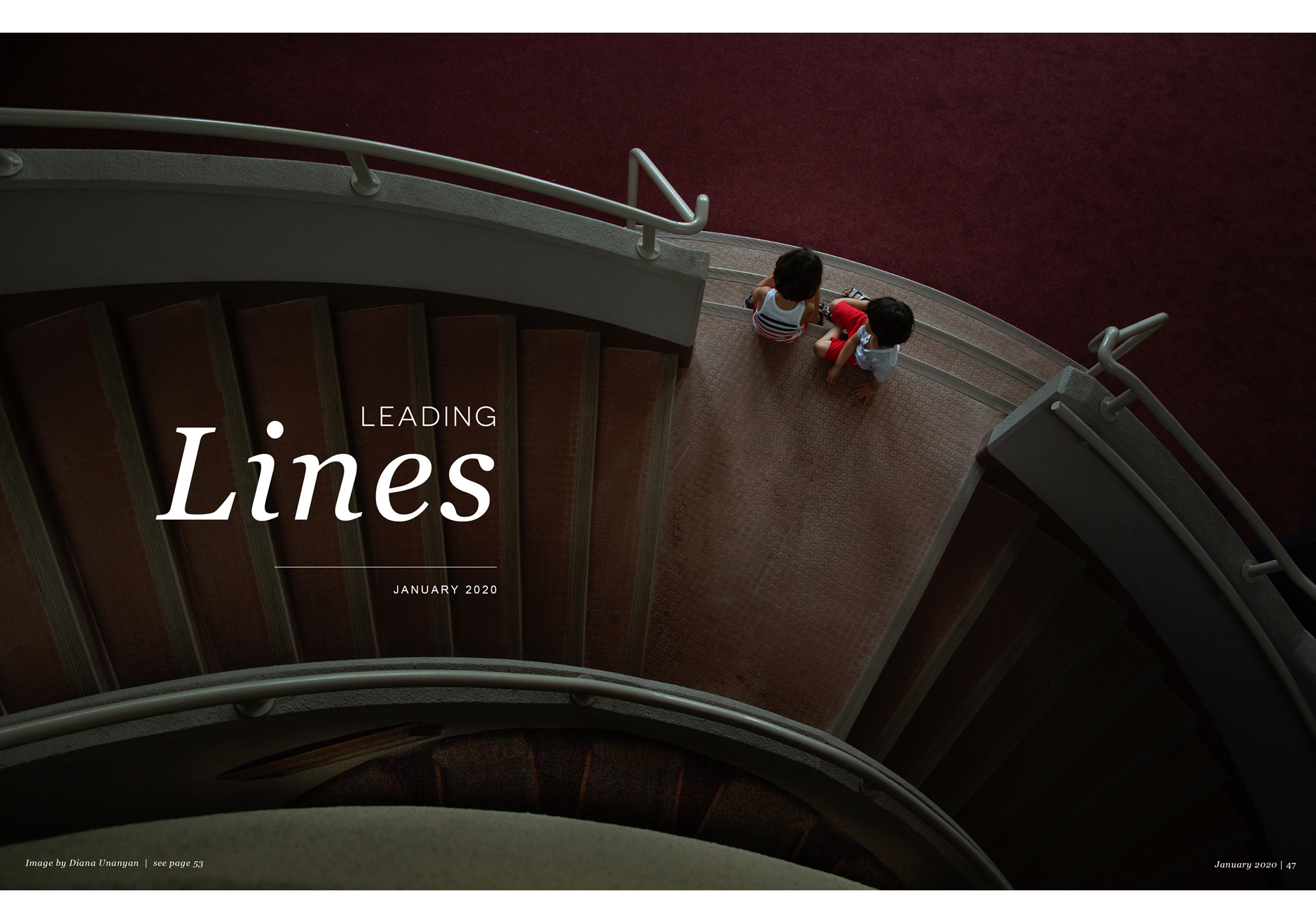 Leading Lines, January 2020, Diana Unanyan