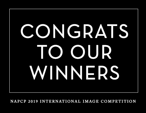 congrats to our winners, NAPCP 2019 International Image Competition