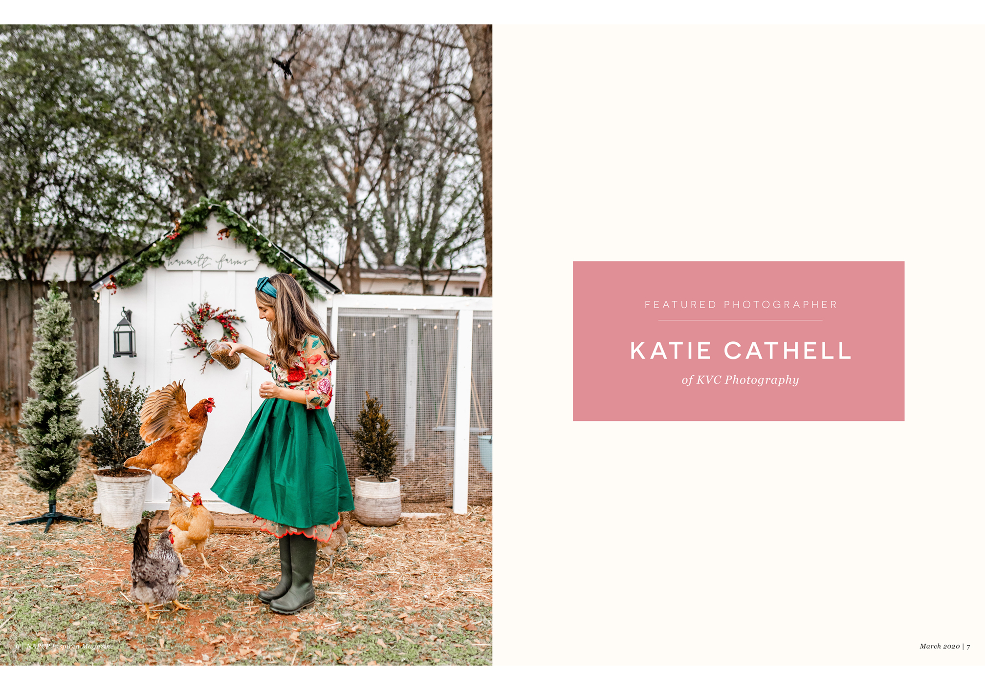 Featured Photographer Katie Cathell of KVC Photography, March 202