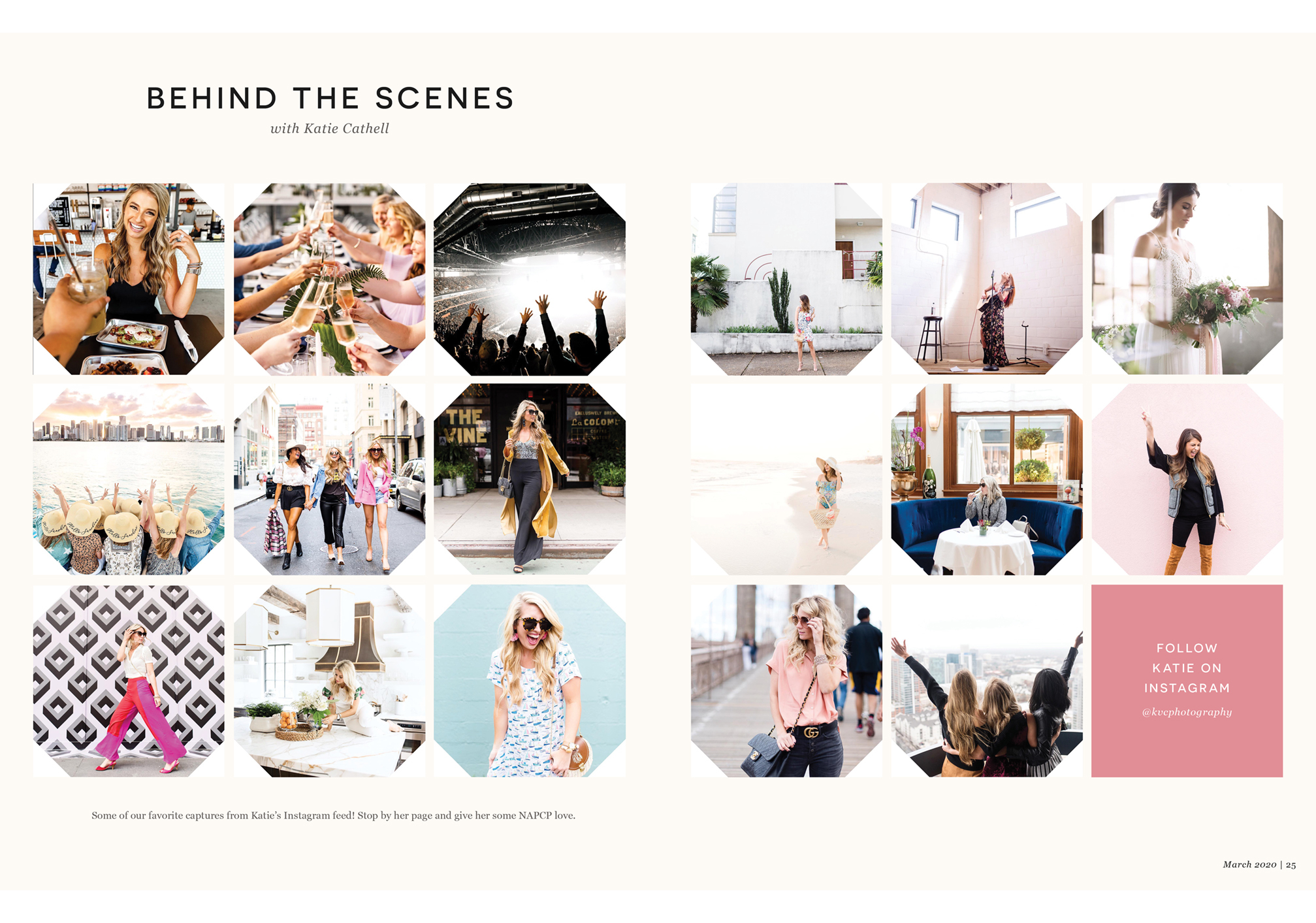 Behind the Scenes with Katie Cathell, Katie Cathell Instagram